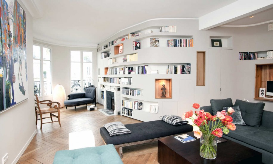 cool-library-room-house-a-home-interior-design-with-fresh-flowers-on-wooden-table-and-grey-sofa-couch-on-herringbone-wood-flooring-wall-decor-large-white-wooden-window-915x549