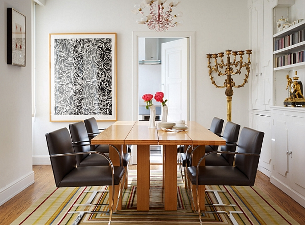 Beautiful-dining-table-in-wood