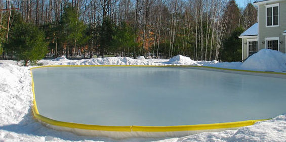 Build The Perfect Backyard Ice Rink Without Any Tools ...
