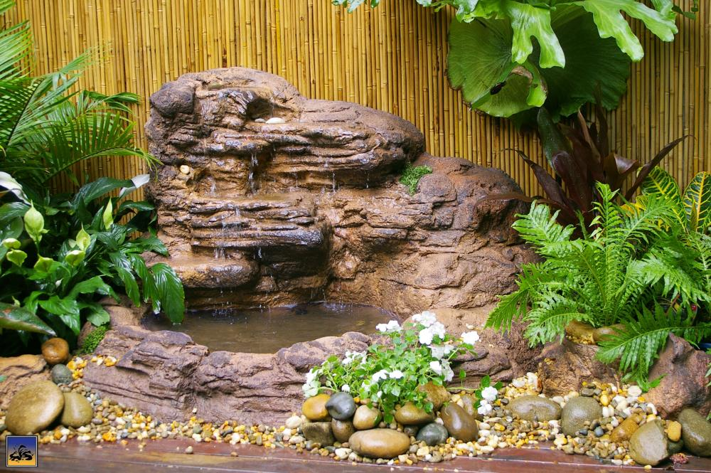 increase the value of your property with a homemade rock fountainemergent village
